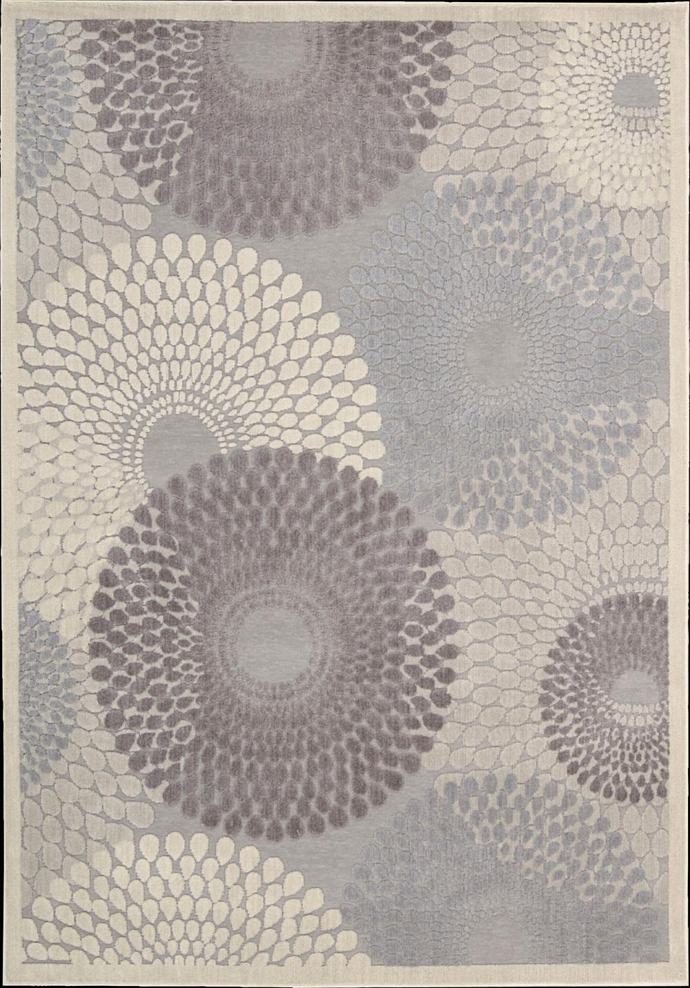 """Nourison Graphic Illusions Area Rug 5'3"""" x 7'5"""" - Item Number: 11805"""