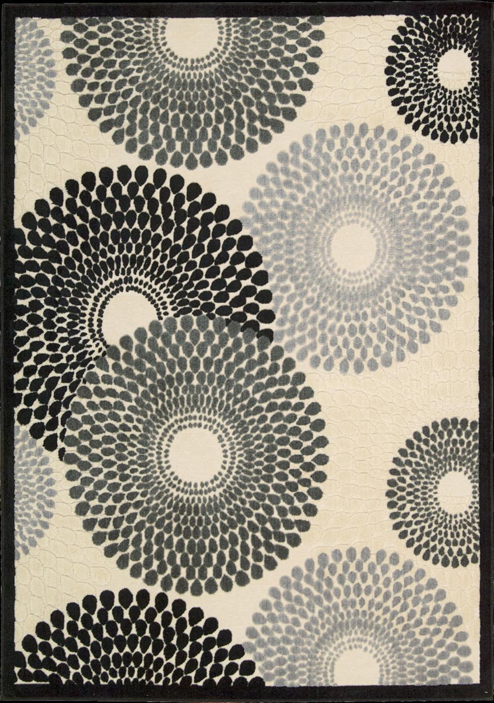 """Nourison Graphic Illusions Area Rug 3'6"""" x 5'6"""" - Item Number: 11809"""