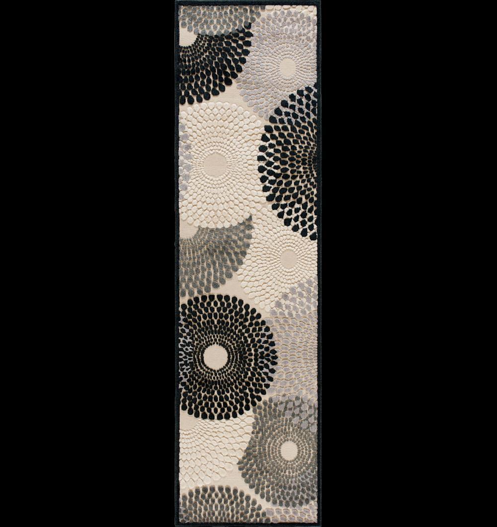 """Nourison Graphic Illusions Area Rug 2'3"""" x 8' - Item Number: 11811"""
