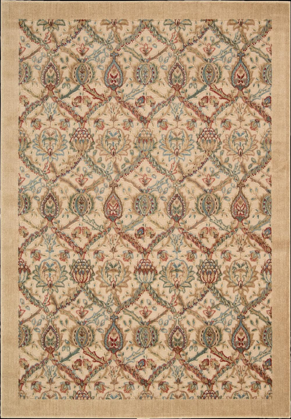 "Nourison Graphic Illusions Area Rug 5'3"" x 7'5"" - Item Number: 13089"