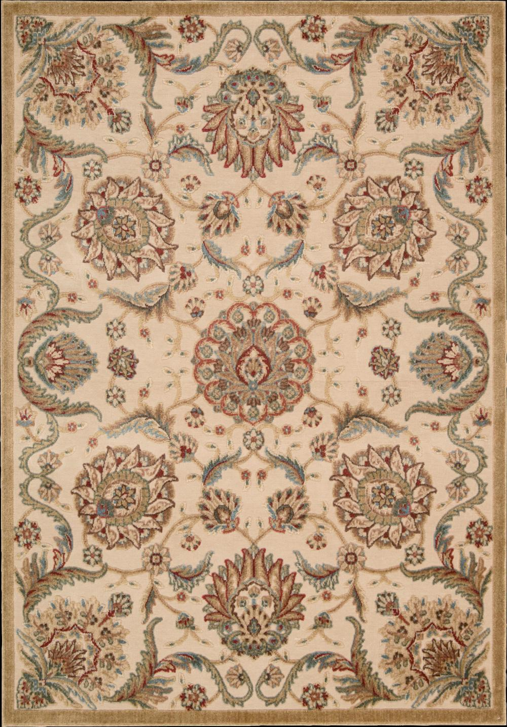 "Nourison Graphic Illusions Area Rug 5'3"" x 7'5"" - Item Number: 13095"
