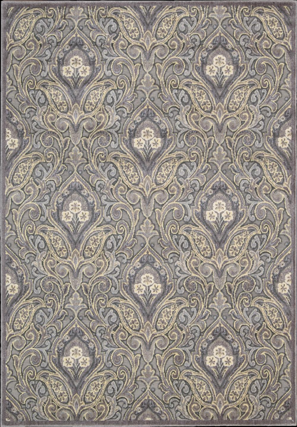 "Nourison Graphic Illusions Area Rug 7'9"" x 10'10"" - Item Number: 13169"
