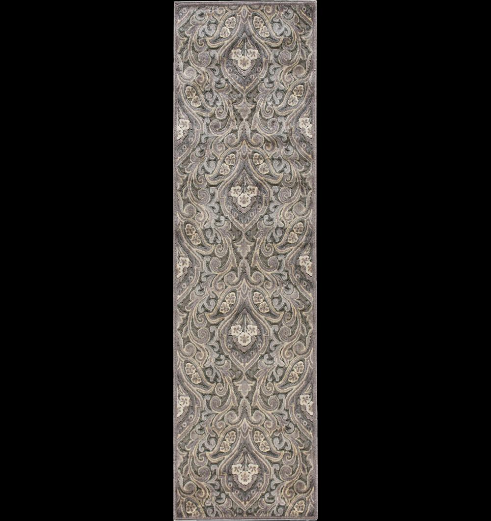 "Nourison Graphic Illusions Area Rug 2'3"" x 8' - Item Number: 13209"
