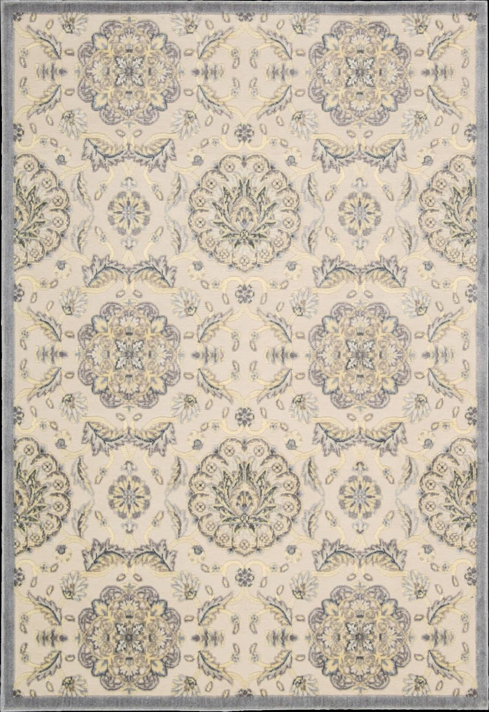 "Nourison Graphic Illusions Area Rug 3'6"" x 5'6"" - Item Number: 13213"
