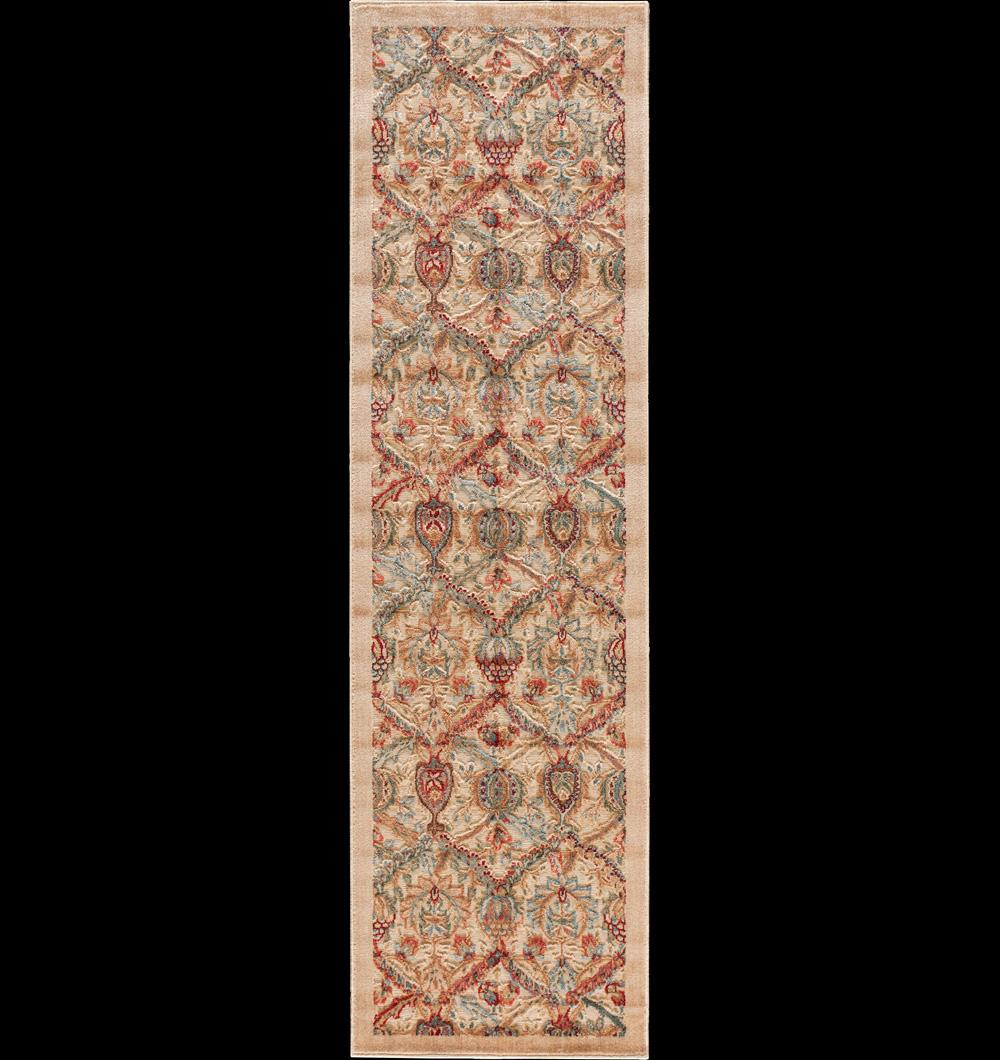 "Nourison Graphic Illusions Area Rug 2'3"" x 8' - Item Number: 13253"