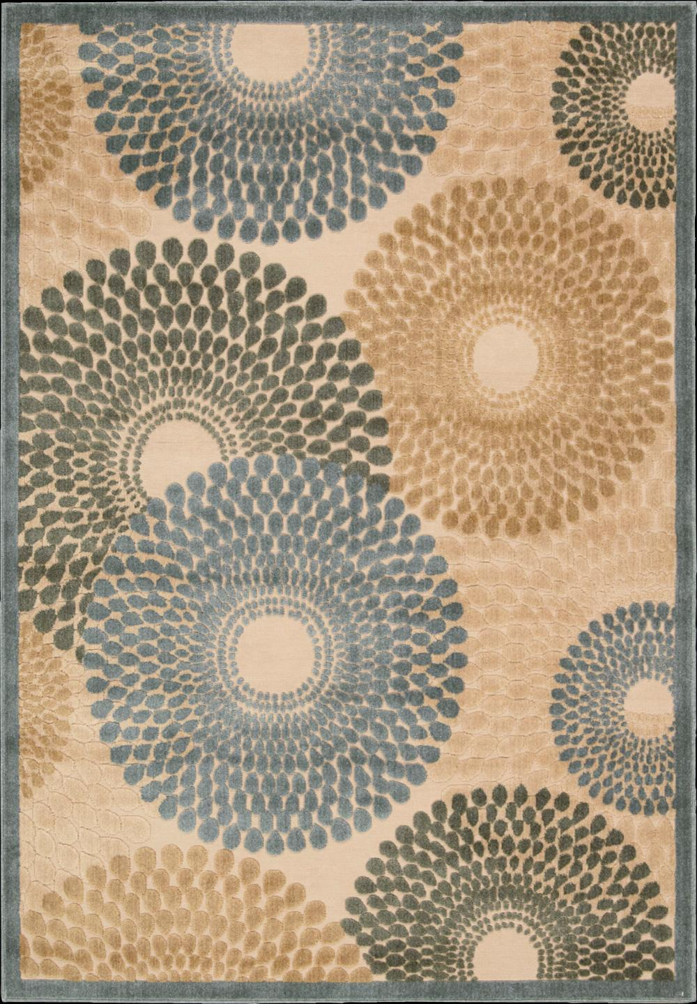 "Nourison Graphic Illusions Area Rug 3'6"" x 5'6"" - Item Number: 13293"