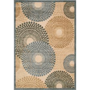 "Nourison Graphic Illusions Area Rug 3'6"" x 5'6"""