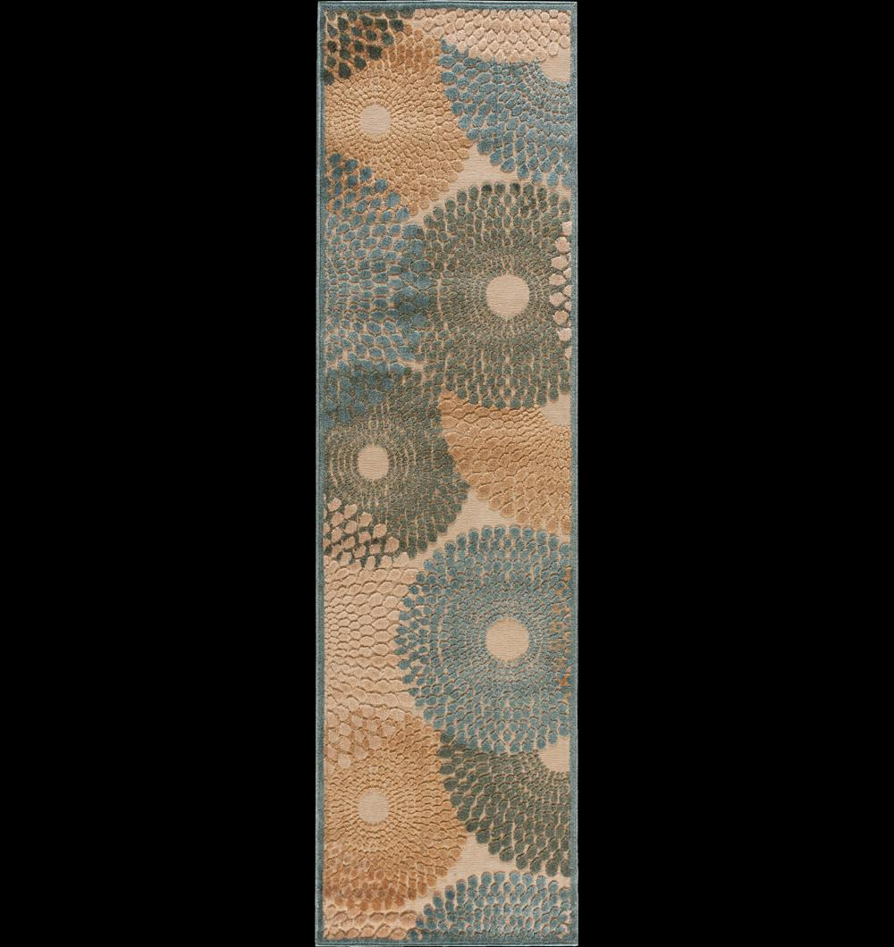 "Nourison Graphic Illusions Area Rug 2'3"" x 8' - Item Number: 13294"