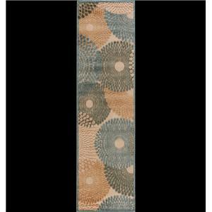 "Nourison Graphic Illusions Area Rug 2'3"" x 8'"