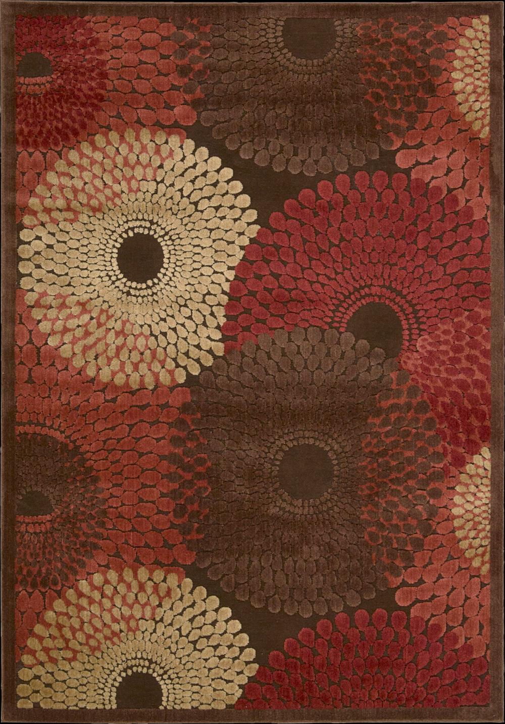 "Nourison Graphic Illusions Area Rug 7'9"" x 10'10"" - Item Number: 13302"