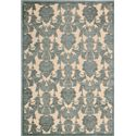 "Nourison Graphic Illusions Area Rug 5'3"" x 7'5"" - Item Number: 13515"