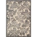 "Nourison Graphic Illusions Area Rug 3'6"" x 5'6"" - Item Number: 16048"