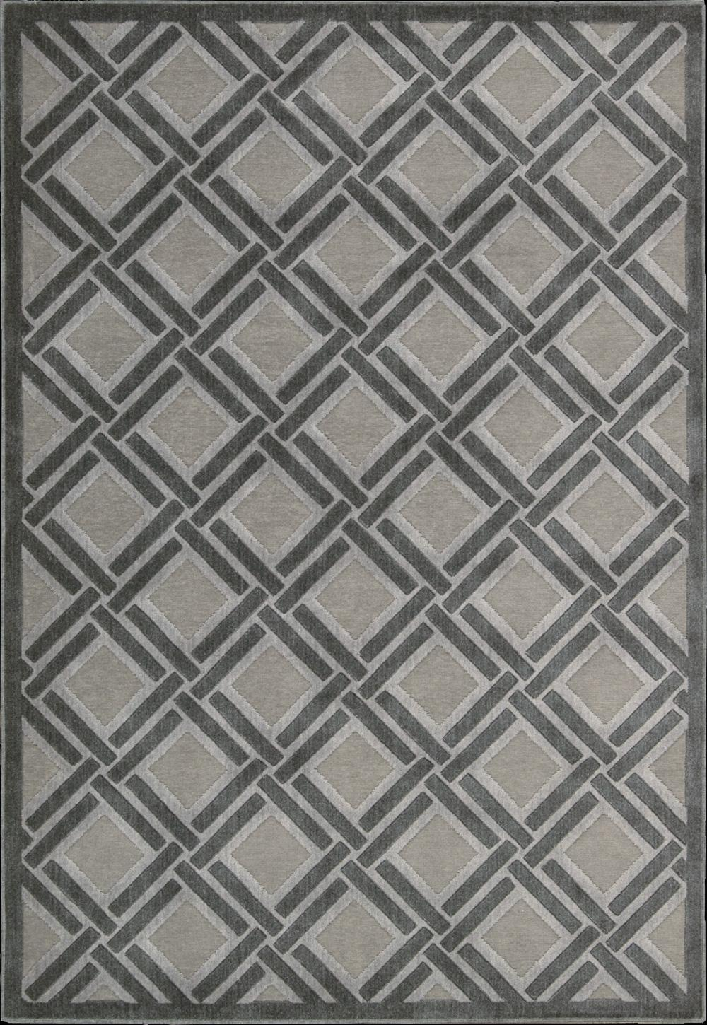 "Nourison Graphic Illusions Area Rug 5'3"" x 7'5"" - Item Number: 16061"