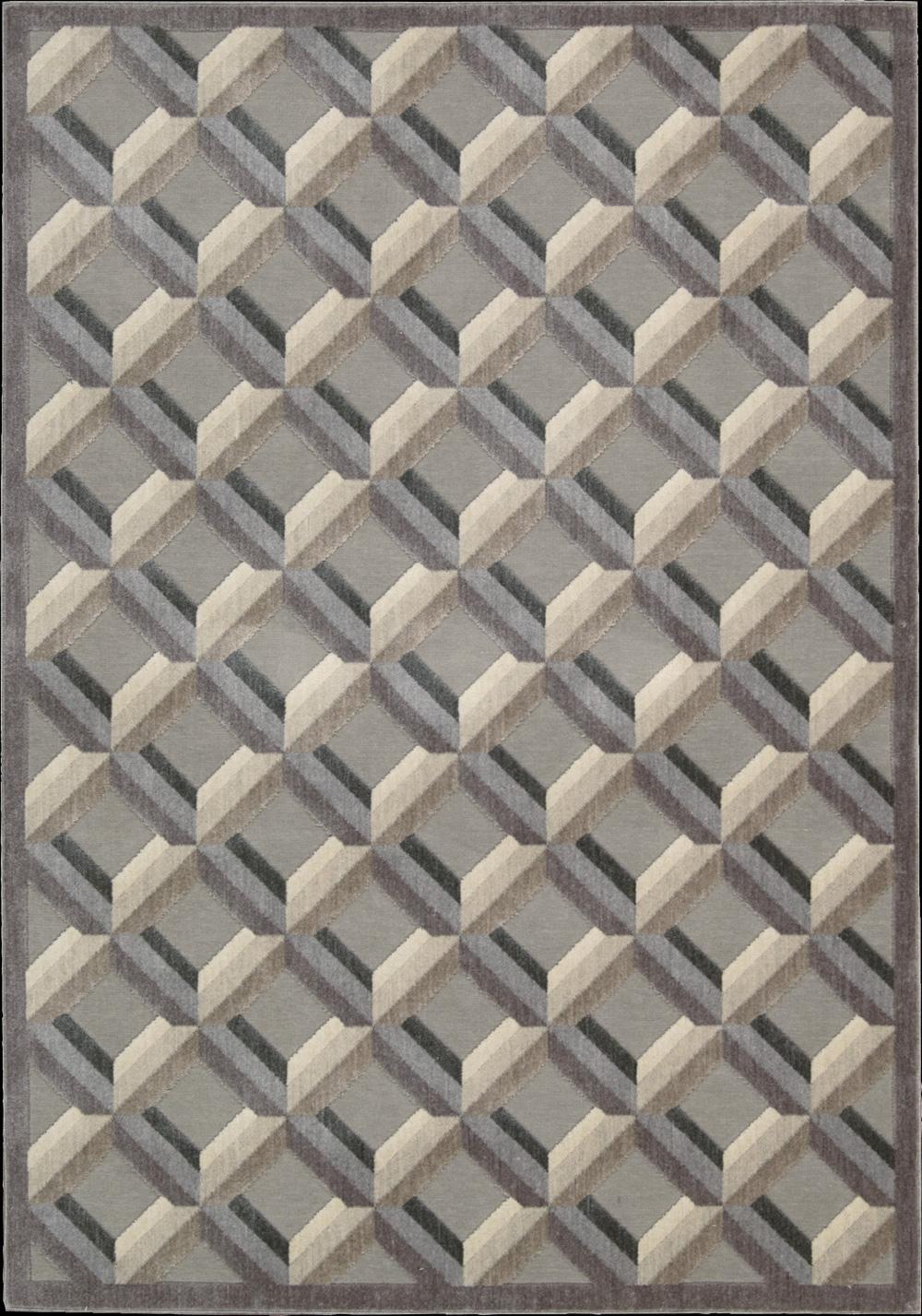 """Nourison Graphic Illusions Area Rug 5'3"""" x 7'5"""" - Item Number: 16074"""
