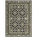 "Nourison Graphic Illusions Area Rug 7'9"" X 10'10"" - Item Number: 22177"