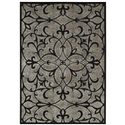 "Nourison Graphic Illusions Area Rug 5'3"" X 7'5"" - Item Number: 22207"