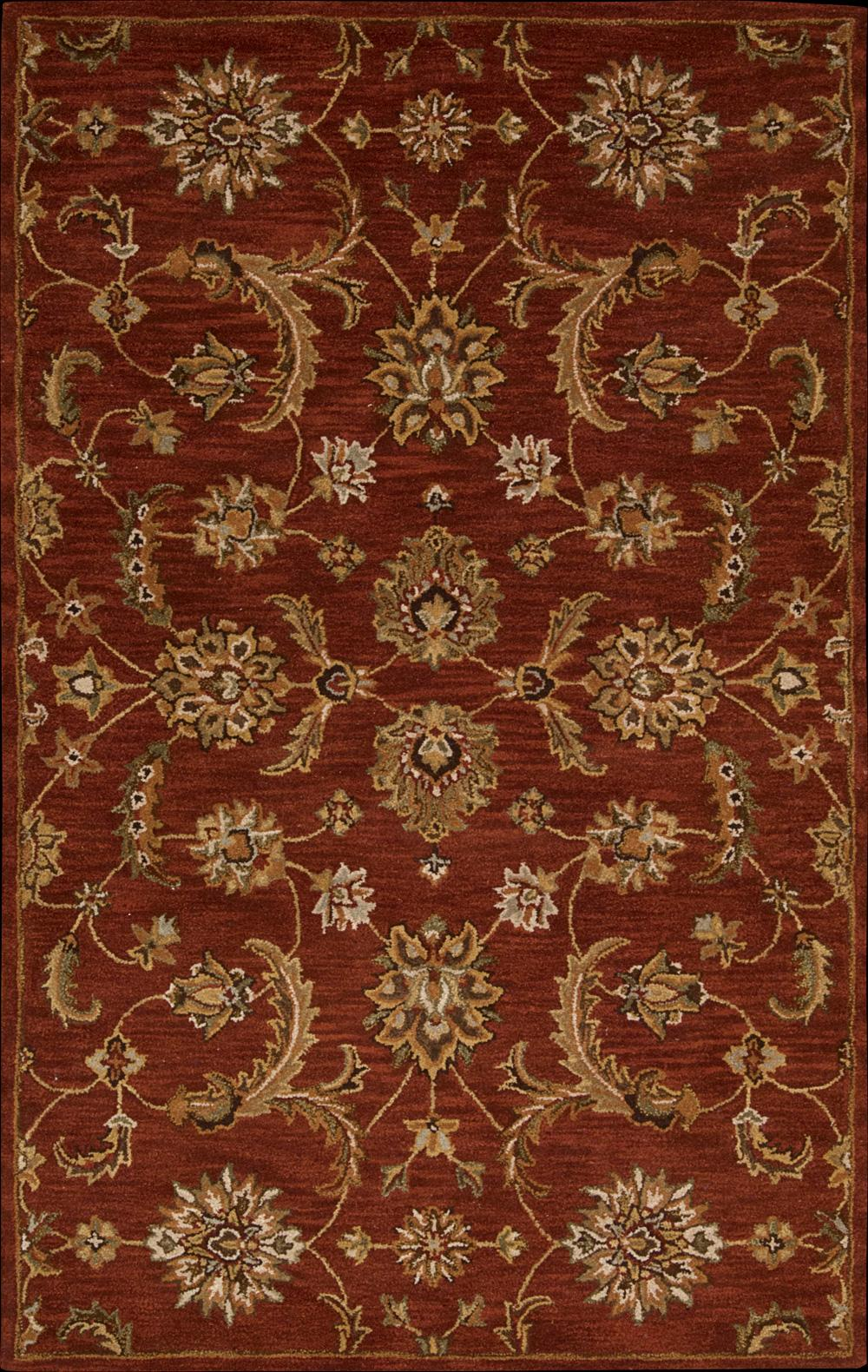 "Nourison India House Area Rug 3'6"" x 5'6"" - Item Number: 10297"