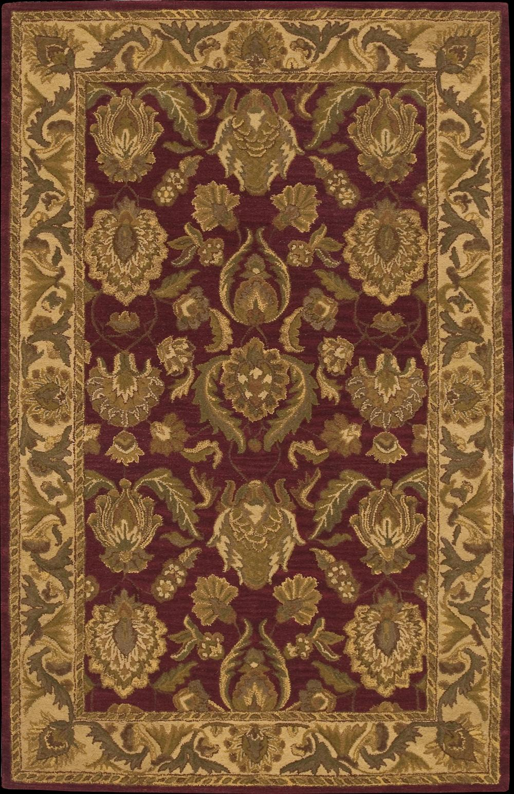 "Nourison India House Area Rug 3'6"" x 5'6"" - Item Number: 11167"