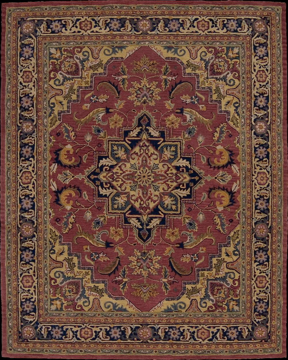 "Nourison India House Area Rug 3'6"" x 5'6"" - Item Number: 11176"