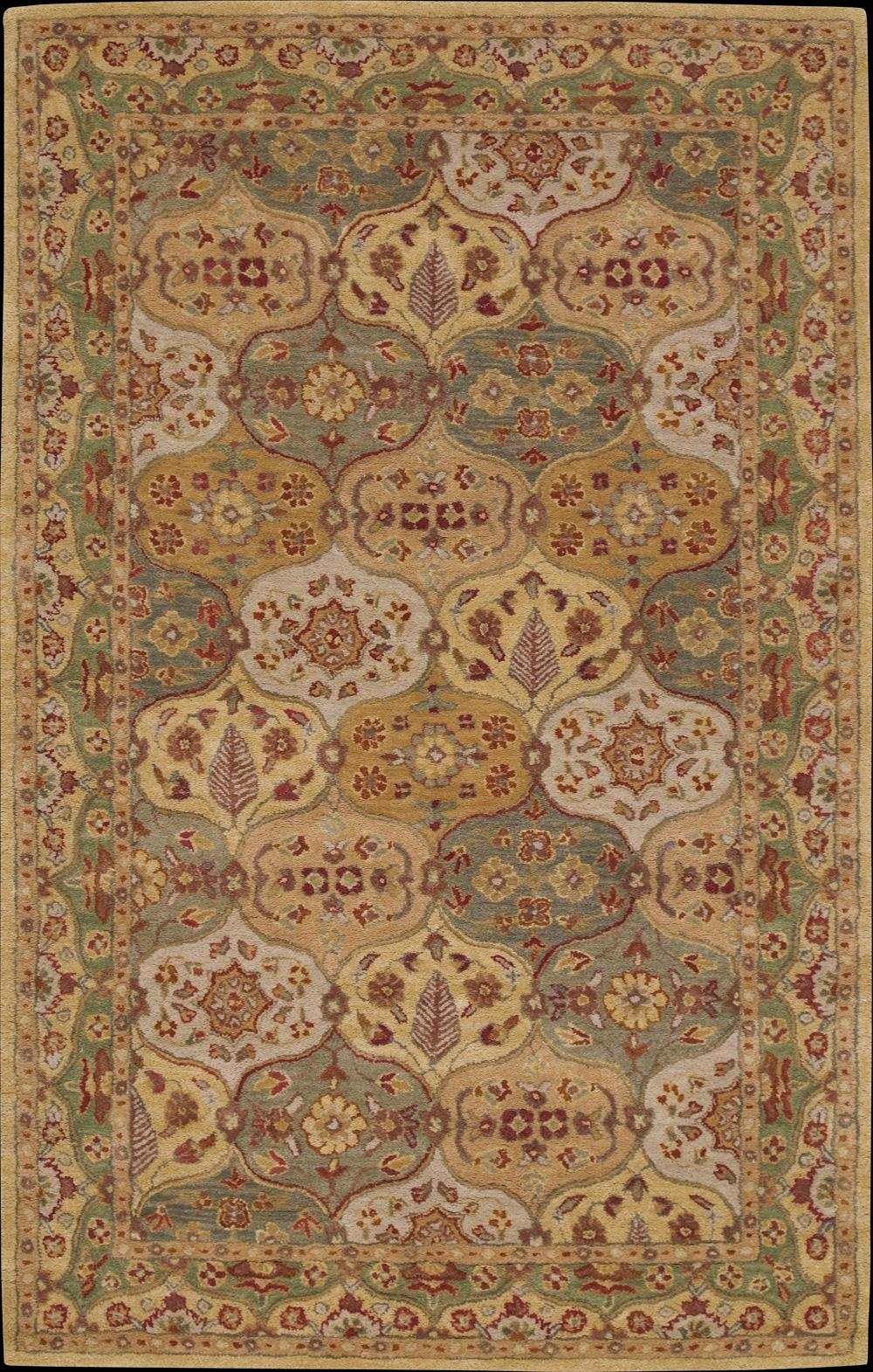 "Nourison India House Area Rug 3'6"" x 5'6"" - Item Number: 11185"
