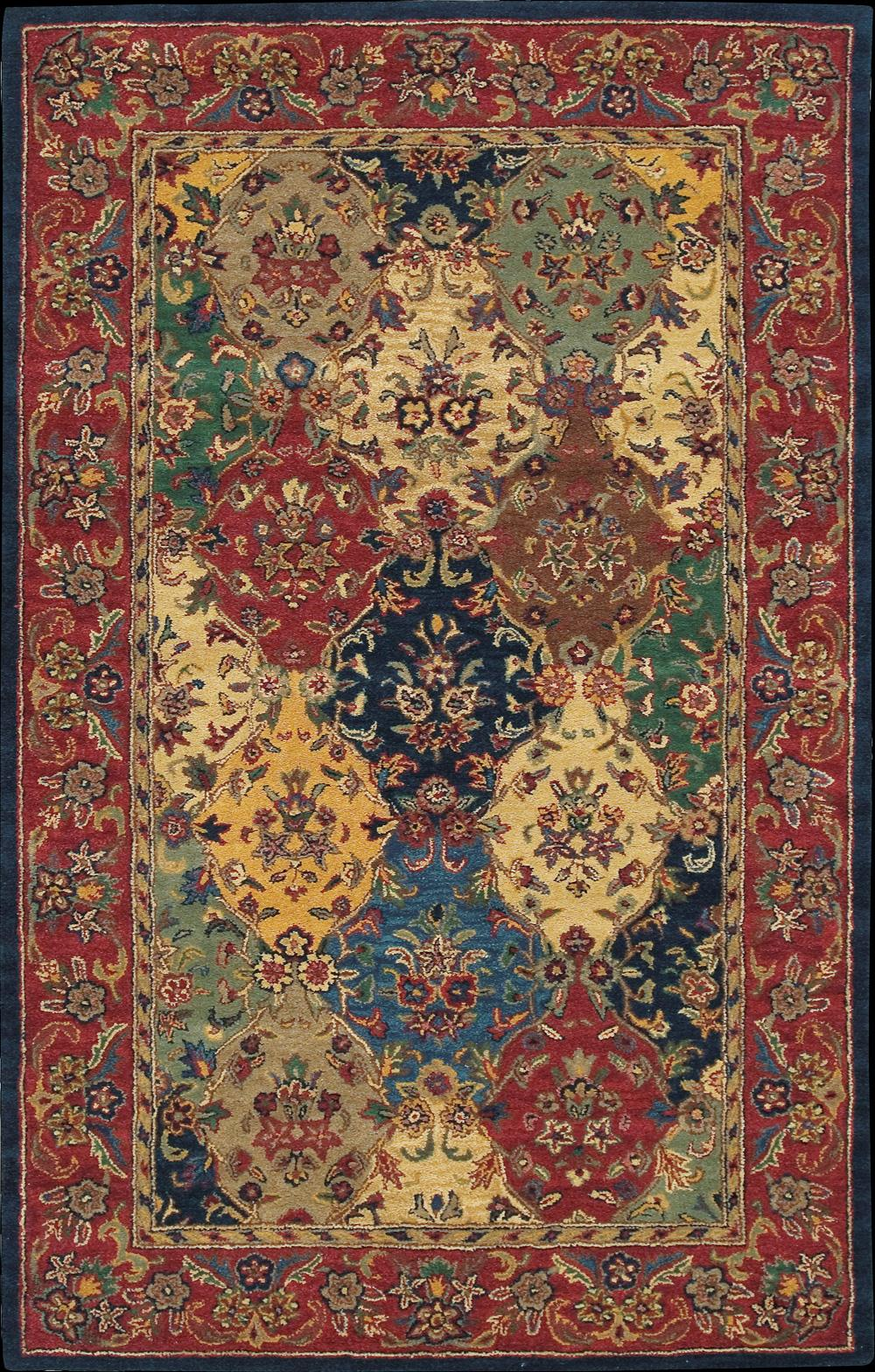 "Nourison India House Area Rug 3'6"" x 5'6"" - Item Number: 12472"