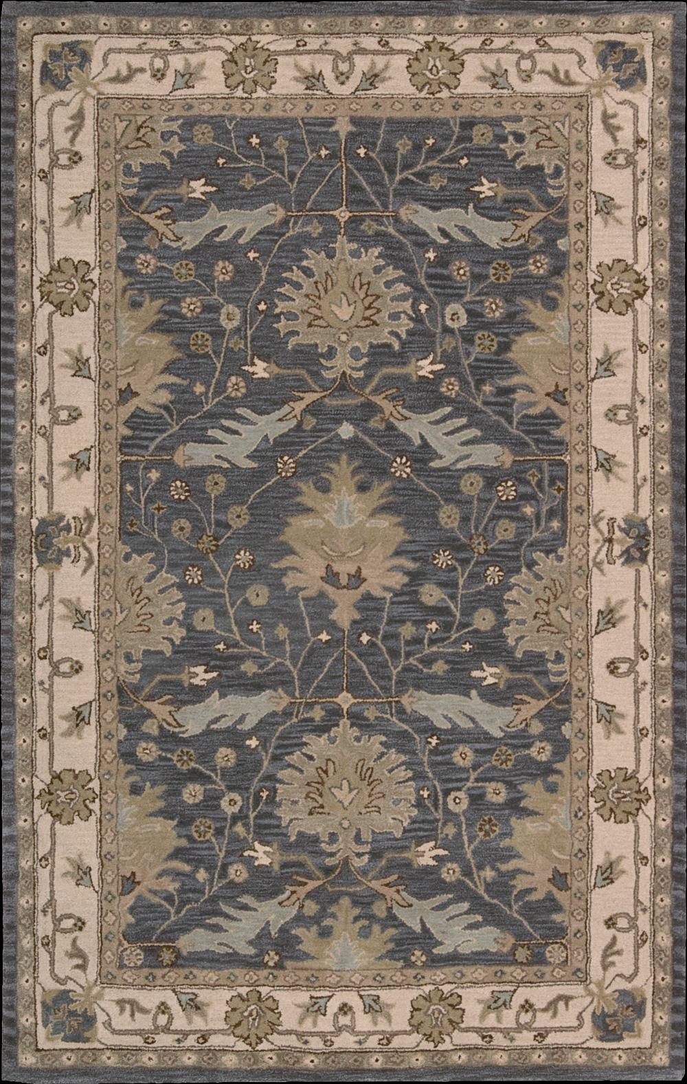 """Nourison India House Area Rug 3'6"""" x 5'6"""" - Item Number: 196"""