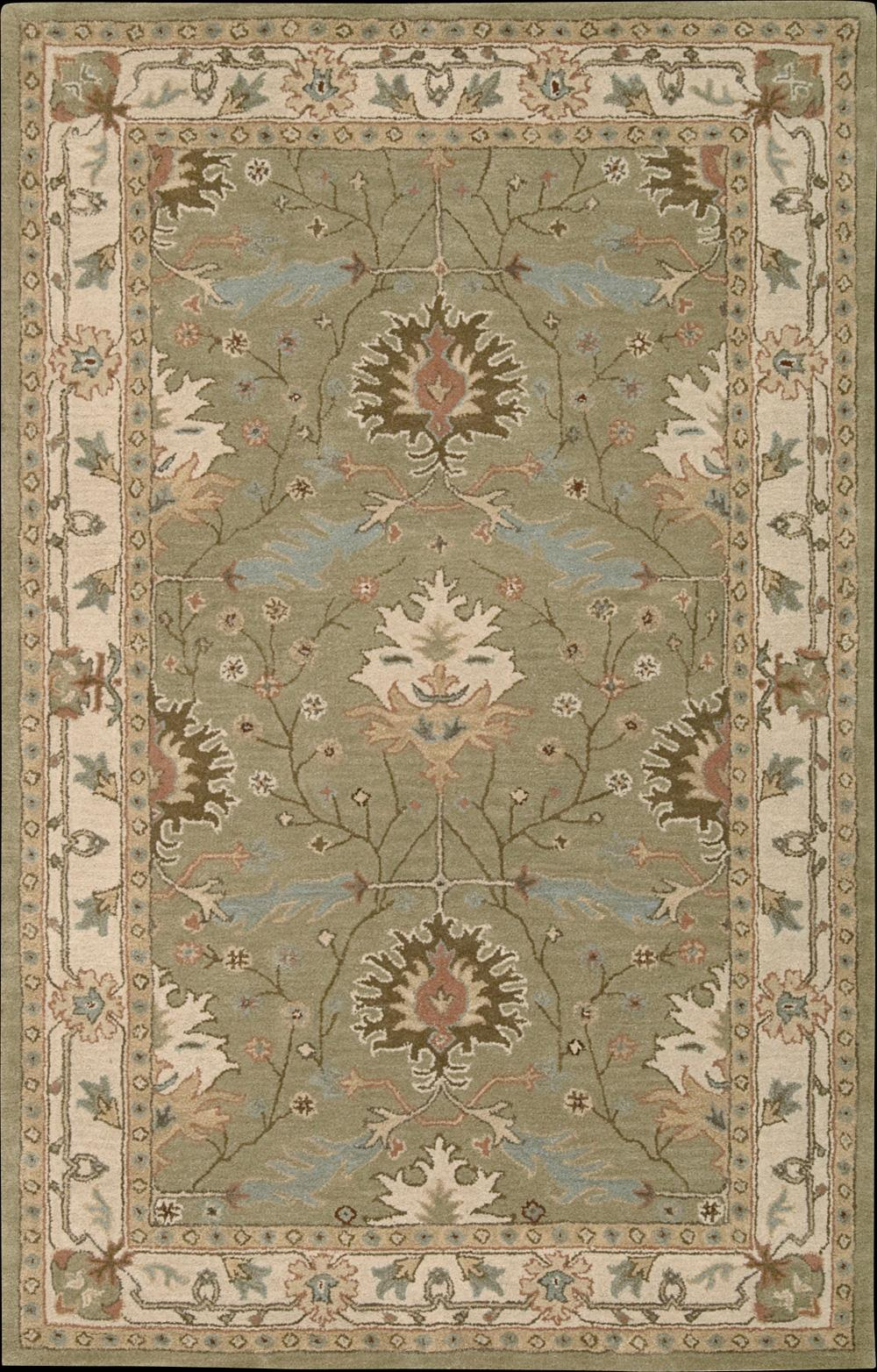 "Nourison India House Area Rug 3'6"" x 5'6"" - Item Number: 197"