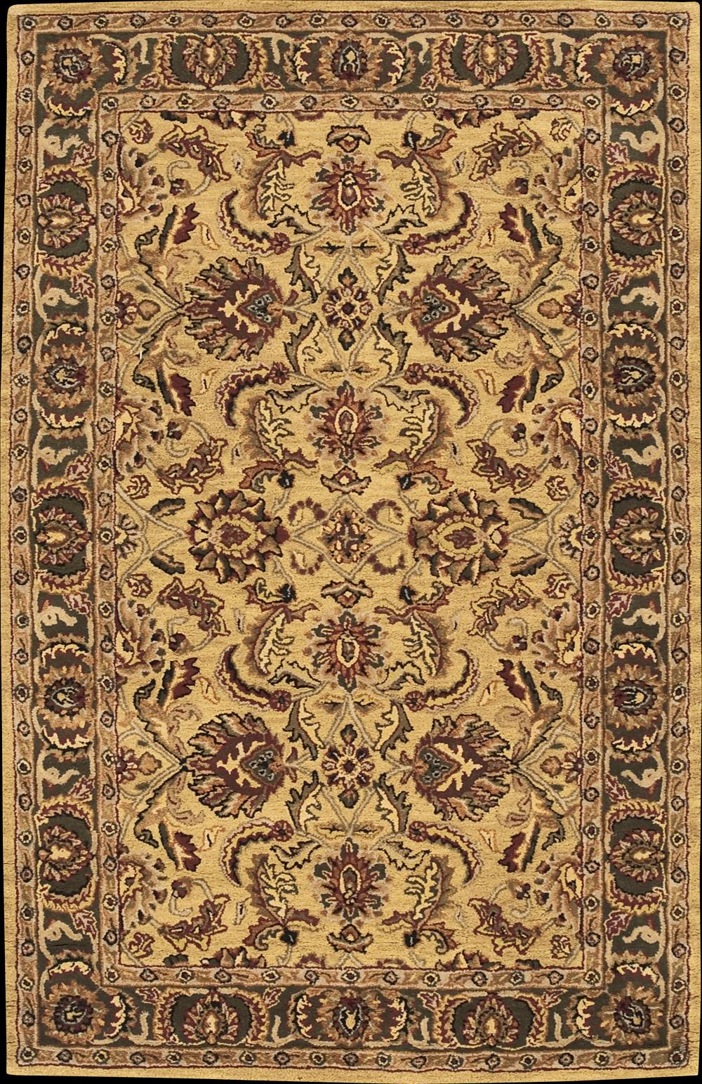 "Nourison India House Area Rug 3'6"" x 5'6"" - Item Number: 21166"
