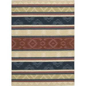 "Nourison India House 3'6"" x 5'6"" Multicolor Area Rug"