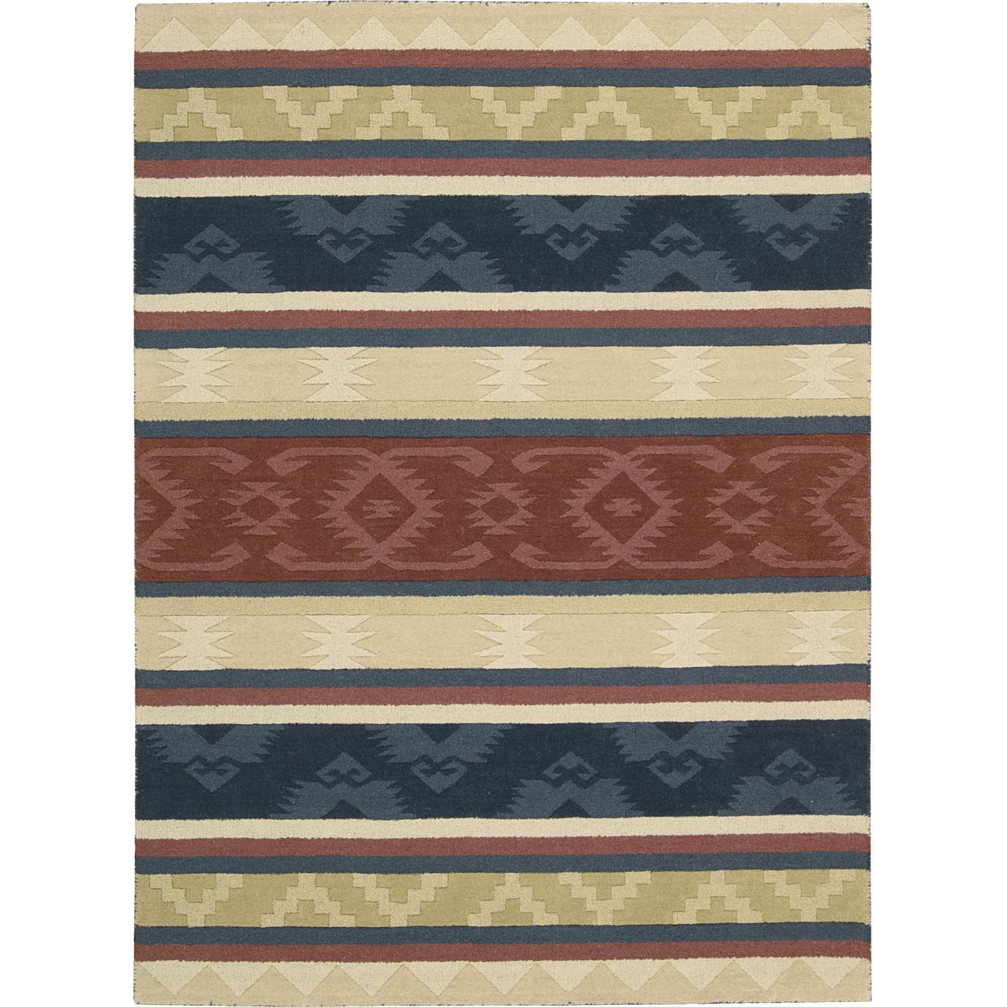 "Nourison India House 8' x 10'6"" Multicolor Area Rug - Item Number: 22013"