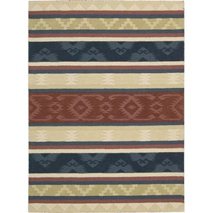 "Nourison India House 8' x 10'6"" Multicolor Area Rug"