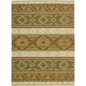 "Nourison India House 2'6"" x 4' Camel Area Rug - Item Number: 22019"