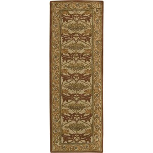 "Nourison India House 2'3"" x 7'6"" Beige Area Rug"