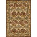 "Nourison India House 2'6"" x 4' Beige Area Rug - Item Number: 23156"