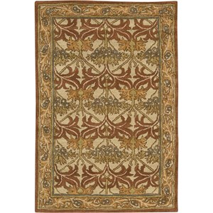 "Nourison India House 3'6"" x 5'6"" Beige Area Rug"