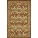 Nourison India House 5' x 8' Beige Area Rug - Item Number: 23158