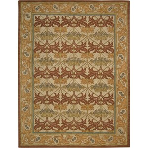 "Nourison India House 8' x 10'6"" Beige Area Rug"