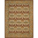 "Nourison India House 8' x 10'6"" Beige Area Rug - Item Number: 23159"