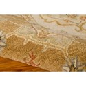 Nourison India House 5' x 8' Ivory Gold Area Rug