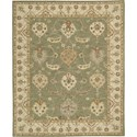 "Nourison India House 8' x 10'6"" Kiwi Area Rug - Item Number: 23187"