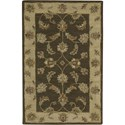 "Nourison India House 2'6"" x 4' Mushroom Area Rug - Item Number: 23190"