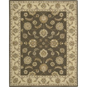 "Nourison India House 8' x 10'6"" Mushroom Area Rug"
