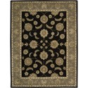 "Nourison India House 8' x 10'6"" Black Area Rug - Item Number: 23209"