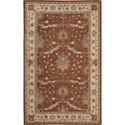 Nourison India House 5' x 8' Brick Area Rug - Item Number: 26163
