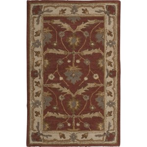 "Nourison India House 2'6"" x 4' Brick Area Rug"