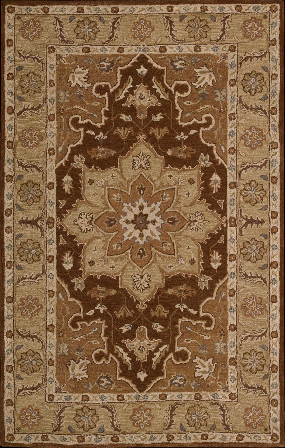 "Nourison India House Area Rug 3'6"" x 5'6"" - Item Number: 28831"
