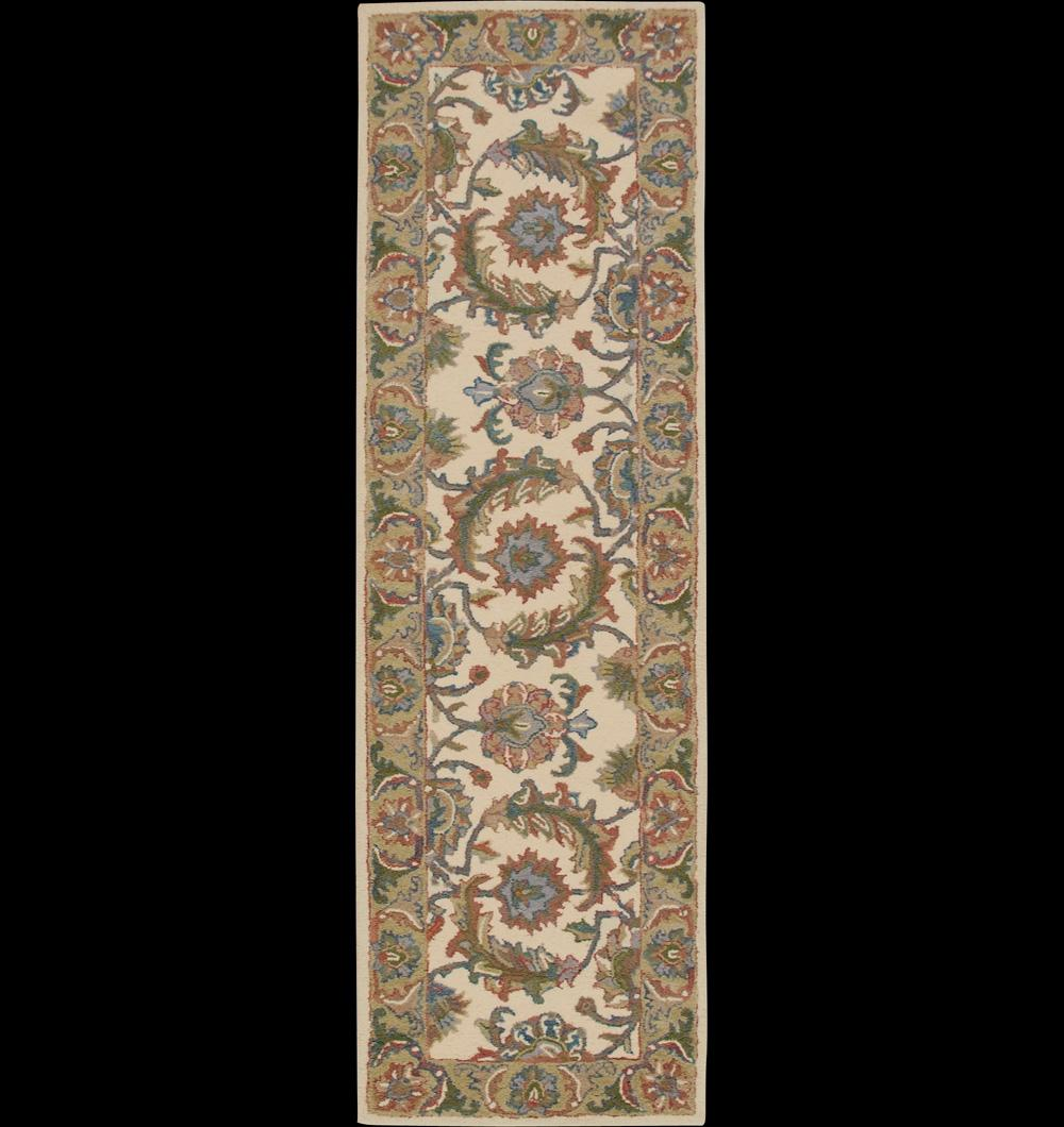 "Nourison India House Area Rug 2'3"" x 7'6"" - Item Number: 33829"
