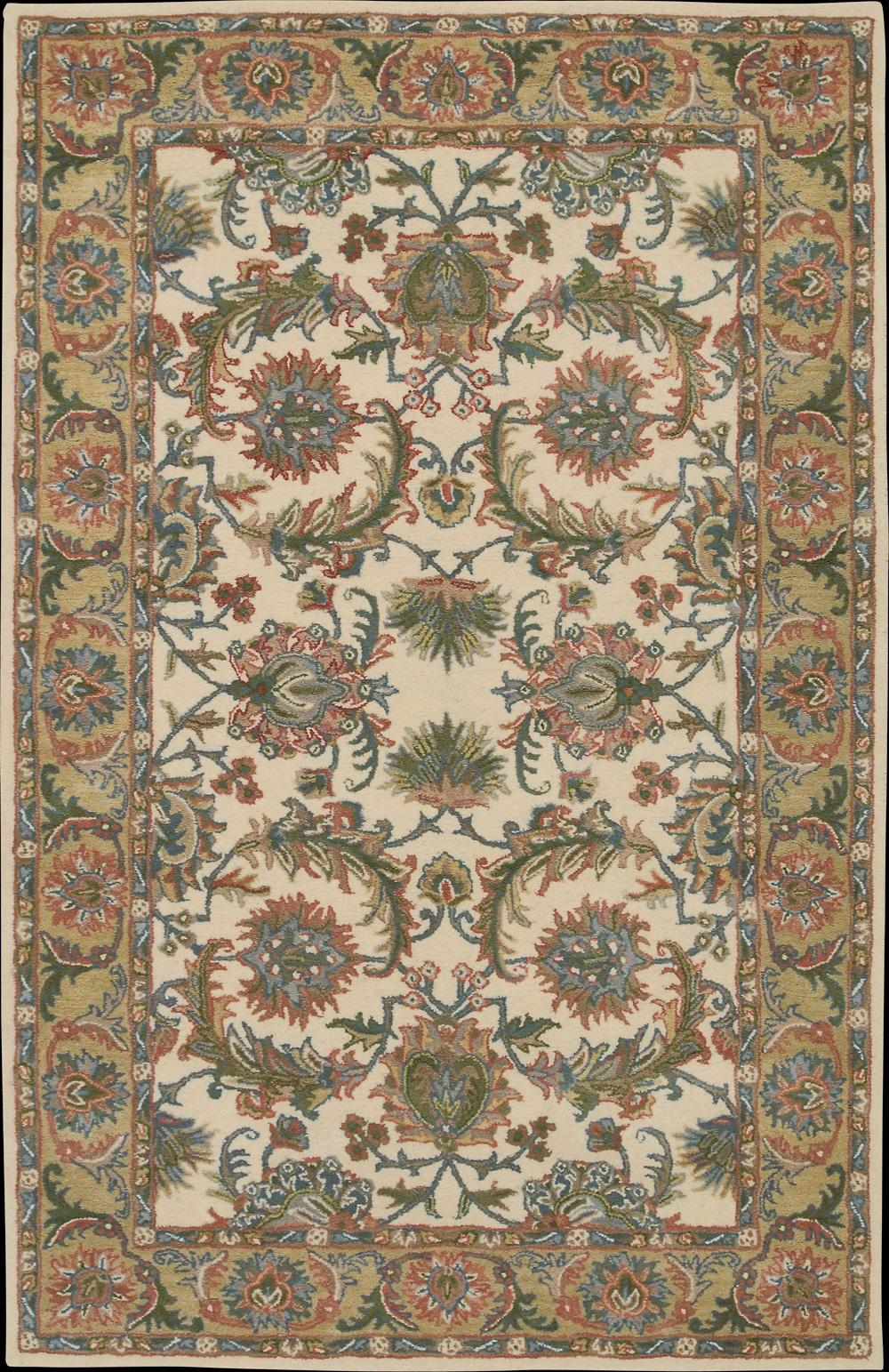 "Nourison India House Area Rug 3'6"" x 5'6"" - Item Number: 33838"