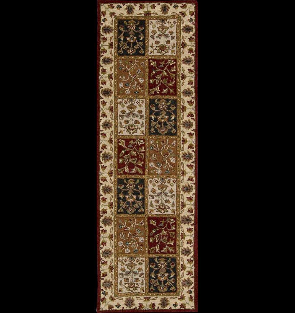 """Nourison India House Area Rug 2'3"""" x 7'6"""" - Item Number: 41484"""