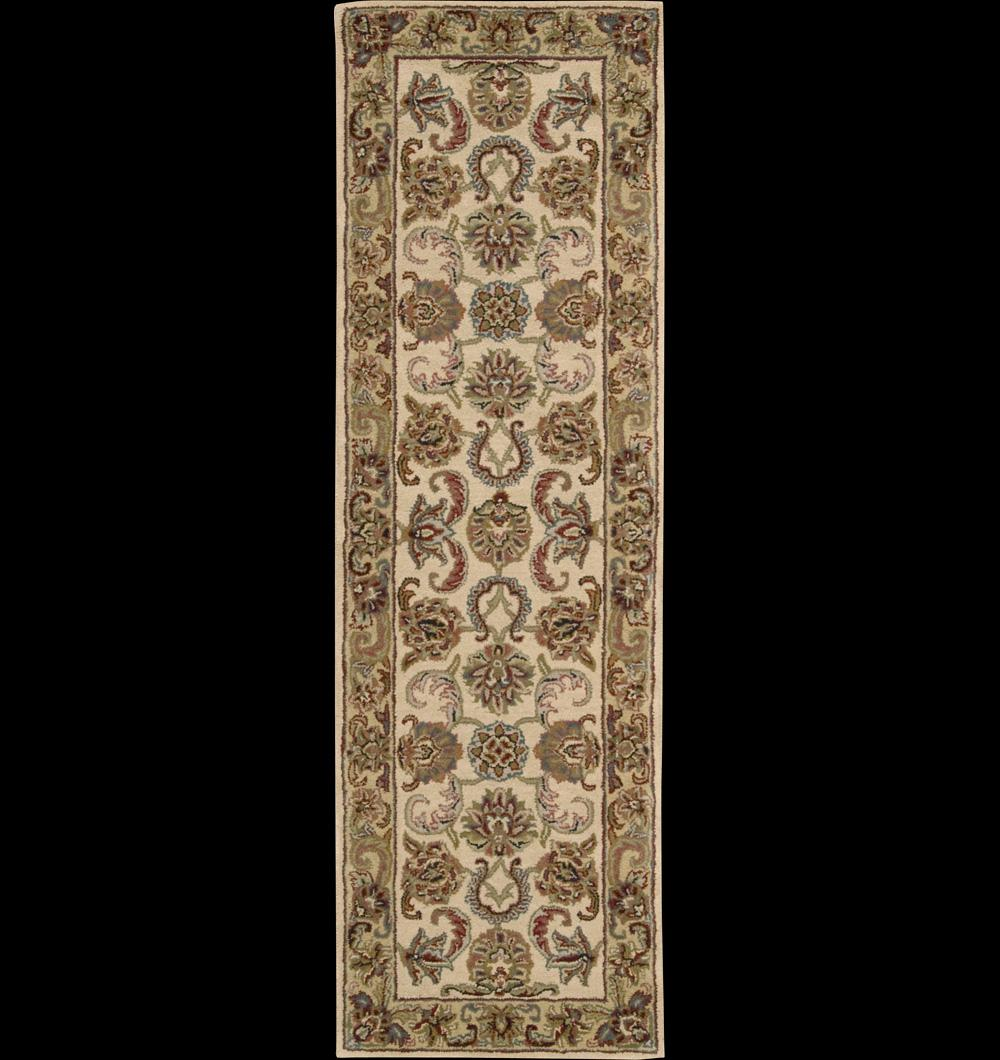 "Nourison India House Area Rug 2'3"" x 7'6"" - Item Number: 65059"